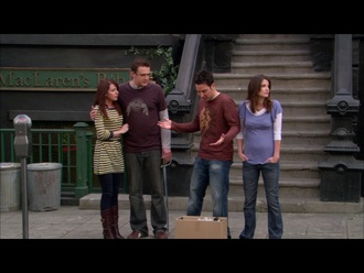 dress yellow grey stripes alyson hannigan lily aldrin how i met your mother