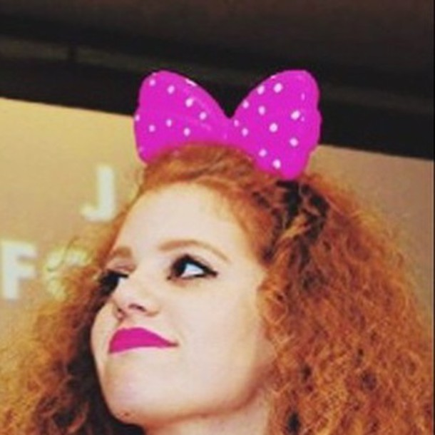 hair accessory ears cat ears mahogany lox