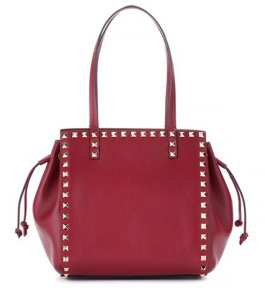 Valentino leather red bag