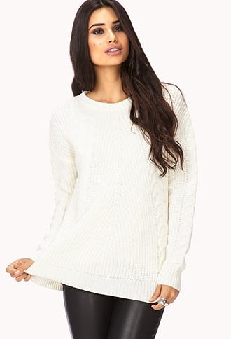 Fireside Open-Knit Sweater | FOREVER21 - 2077845026