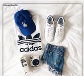hat,cap,blue