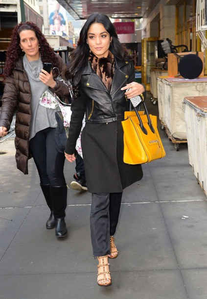 sandals vanessa hudgens jacket coat