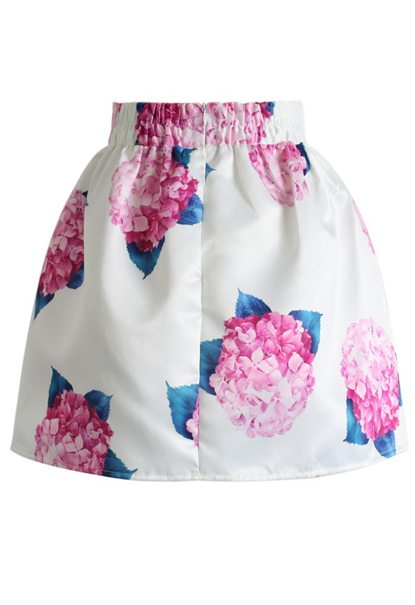 skirt bouquet mini skirt