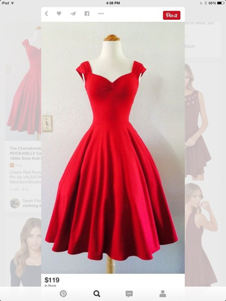 dress red dress homecoming dress cocktail dress red prom dress cute dress sexy dress vintage vintage dress retro dress retro sweetheart neckline prom prom gown red prom dress ball gown dress girly girl sleeveless sleeveless dress cute midi dress sexy puffy dress rg me before you repost date outfit party dress