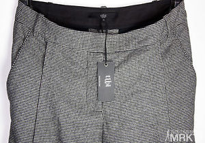 Tibi houndstooth suiting wide leg pants size 0 msrp $300