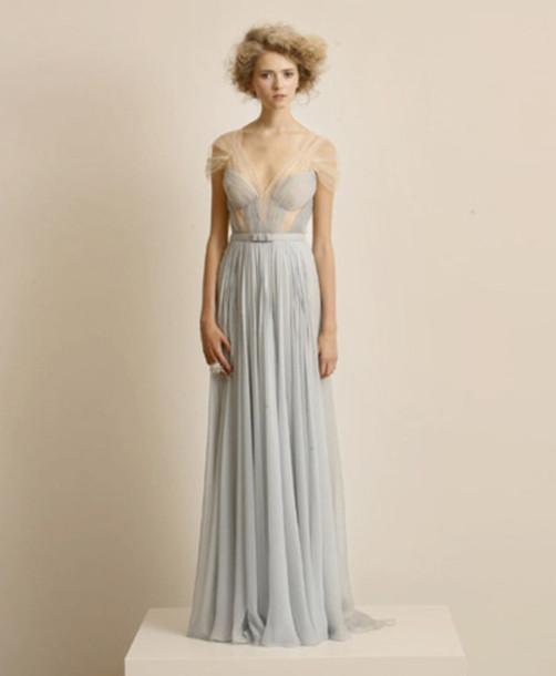 dress blue dress light blue prom dress long prom dress prom gown ball gown dress