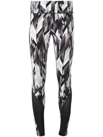 leggings printed leggings women spandex grey pants