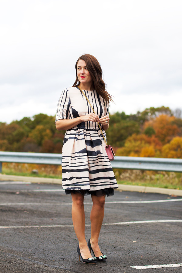 sequins and stripes blogger bag jewels