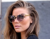 sunglasses,leopard print,summer,amazing,elegant,gold,hot,brown sunglasses,sunnies,shades,cat eye