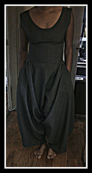 baggy pants harem pants grey jumpsuits for womne jumpsuit jumper casual casual dressy