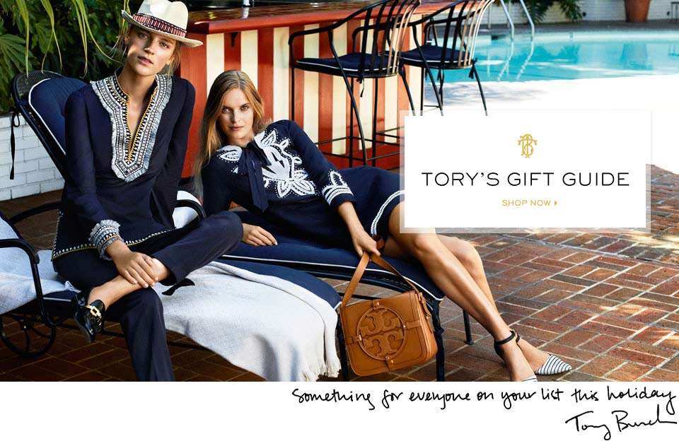 Women's Clothing, Designer Shoes & Flats, Handbags & Accessories | Tory Burch