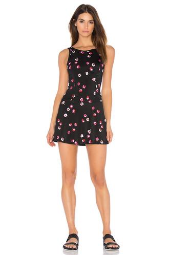 dress floral black