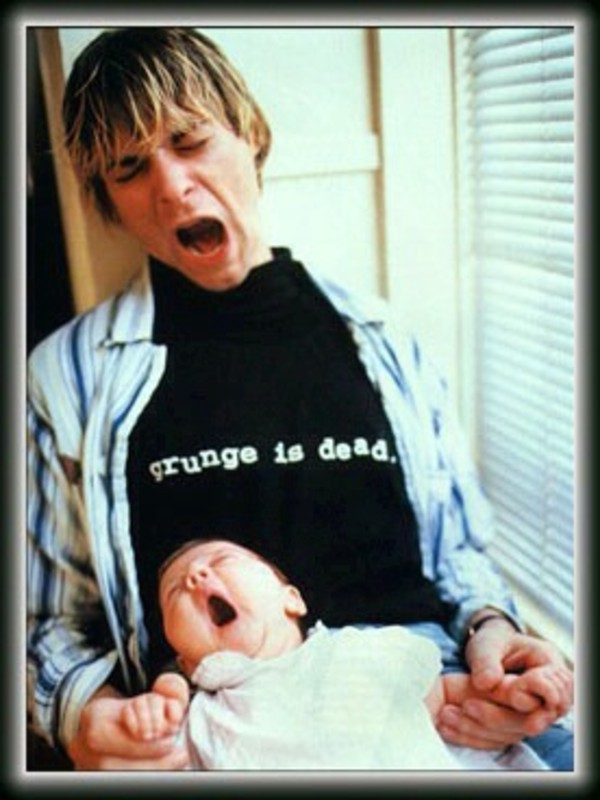 t-shirt kurt cobain grunge cute mens t-shirt