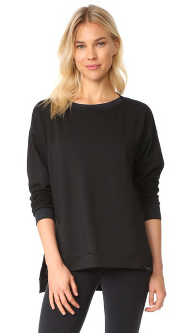 KORAL ACTIVEWEAR Bristol Pullover in black