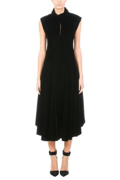 neil barrett dress high velvet black