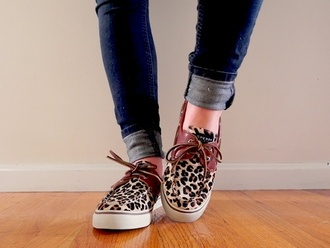 shoes girly sneakers flats leopard print swag