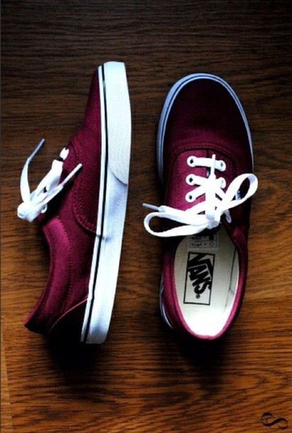 e6e889acc6 shoes burgundy wine vans sneakers cute vans