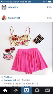 swimwear,floral,high waisted bikini,instagram,bikini