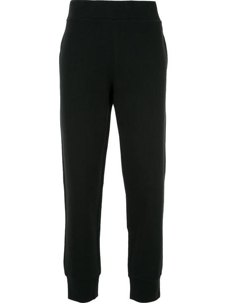 Ck Calvin Klein sweatpants women classic cotton black pants
