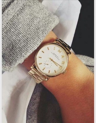 jewels gold marc jacobs whatch