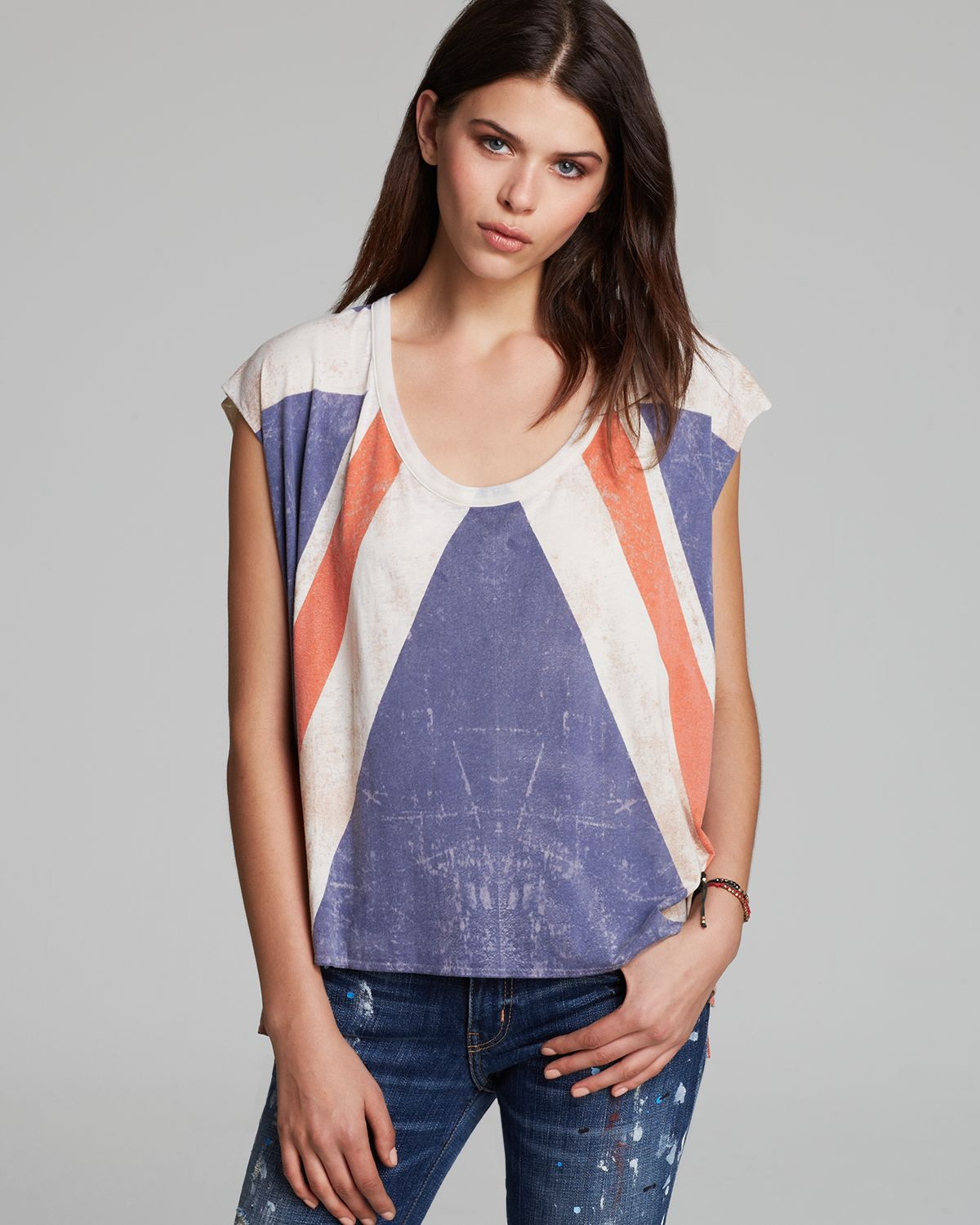 CHASER Tank - Brit Flag Boxy Flow Muscle | Bloomingdale's