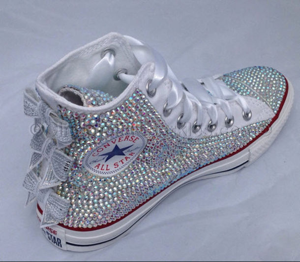 shoes wedding sneakers prom shoes wedding converse shoes custom chuck  taylor converse high top converse rhinestone 9acd45f60