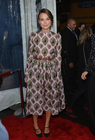 dress keira knightley midi dress