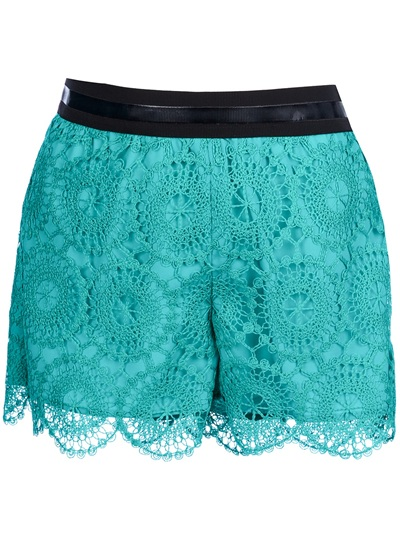 Space Style Concept Lace Shorts - Di Pierro - Farfetch.com