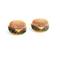 Cheeseburger babe stud earring | bloody-fabulous