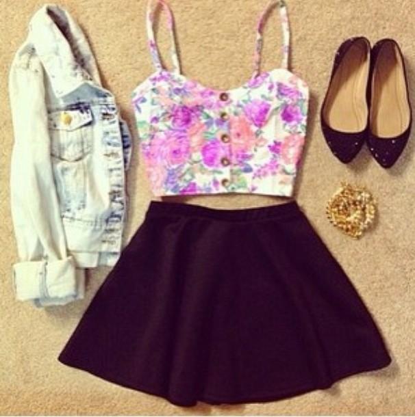 jacket skirt tank top dress summer dress shirt floral tank top jumpsuit pink and white black shirt top cute summer outfits blouse jewels