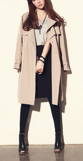 Trench Coat long Outerwear
