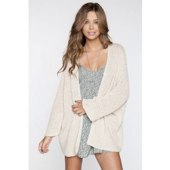 Brandy melville voltaire knit cardigan from micaela's closet on poshmark