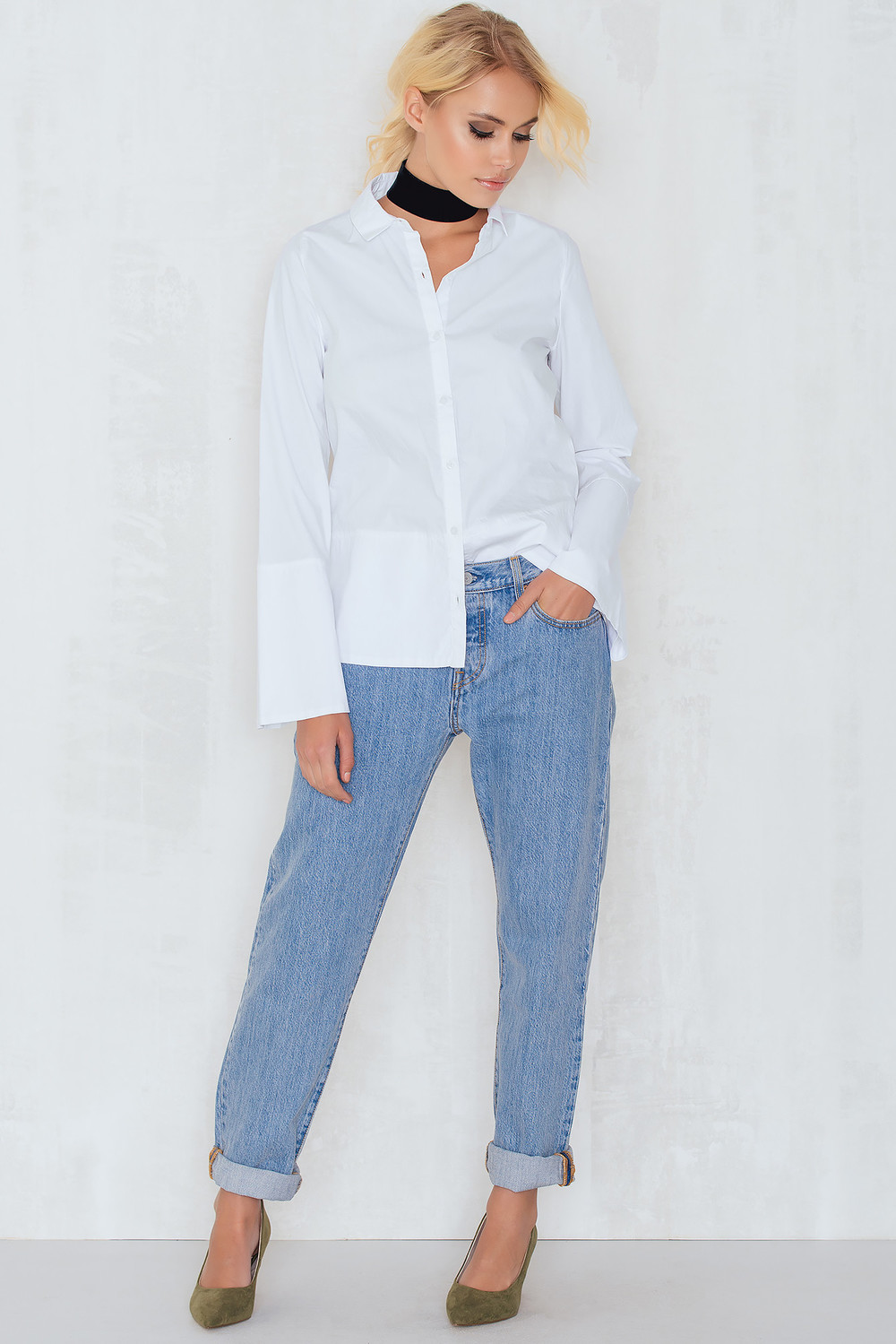 Levi's 501 CT Jeans For Women Daylight Falls