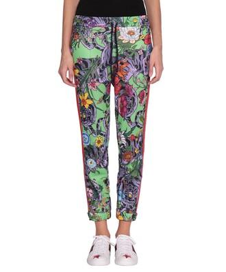 pants track pants multicolor