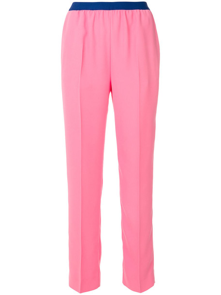 MAISON MARGIELA women purple pink pants