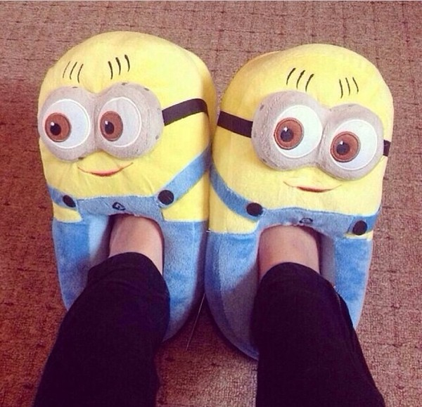 shoes slippers minions despicable me minions