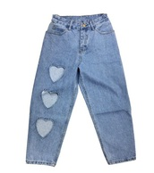 jeans,girly,blue,denim,heart,cut-out