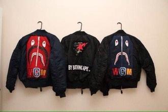 jacket black jacket black bape bape star patchwork dope dope jacket