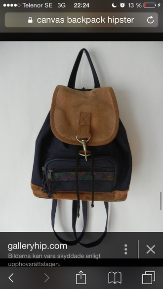 bag hipster backpack