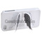 White charming angel wing stand back case   screen protector set for apple iphone 4/4s [29881] - casesinthebox.com