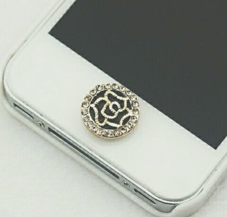 jewels iphone button iphone button iphone 5 case