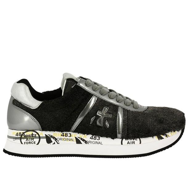 Premiata sneakers. women sneakers shoes grey