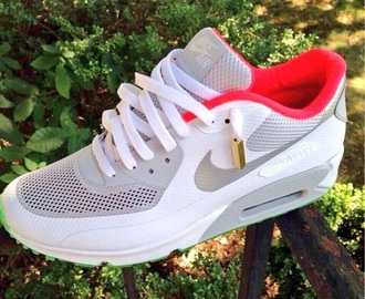 Nike Air Max 1 Hyperfuse Grey White Pink Shoes