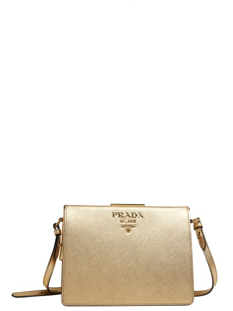 Prada bag gold
