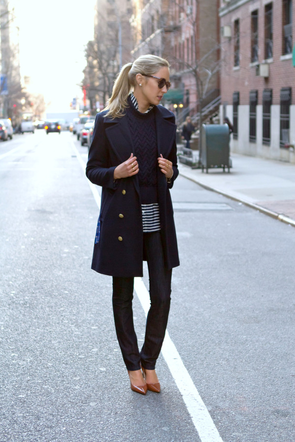 the classy cubicle coat sweater shirt jeans shoes sunglasses jewels