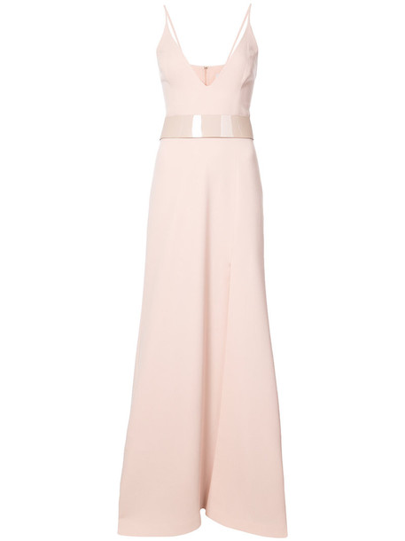 Patbo gown women spandex nude dress
