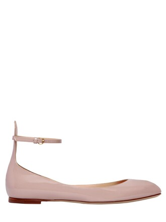tan flats leather flats leather rose shoes