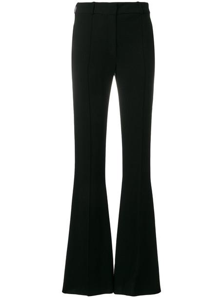 Victoria Beckham women spandex black pants