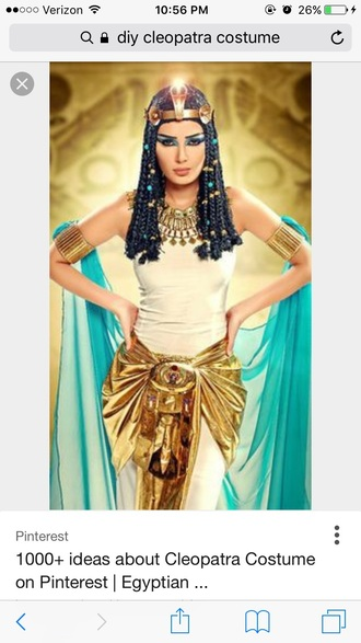 belt costume cleopatra
