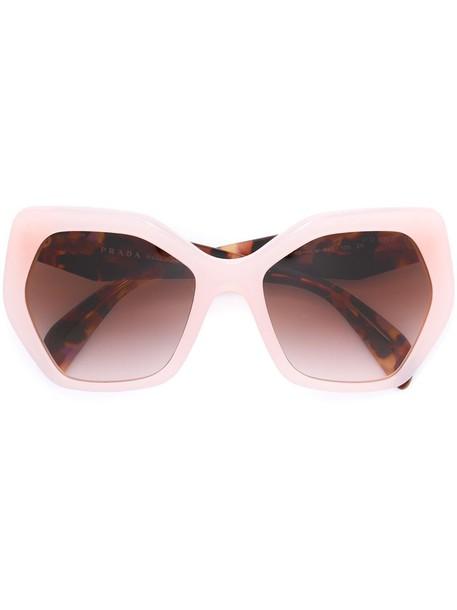 Prada Eyewear sunglasses purple pink